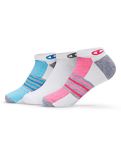 Champion CH648  Women No Show Training Socks 3 Pack
