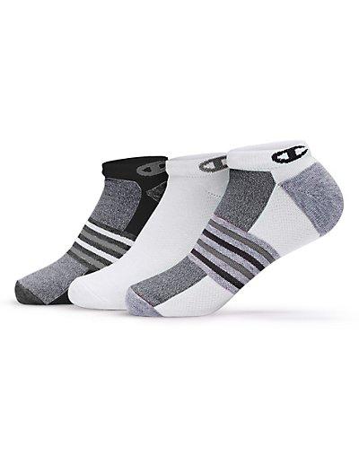 Champion CH648  Women's No-Show Training Socks 3-Pack