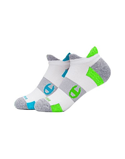 Champion CH660  Women Double Heel Shield Running Socks 2 Pack