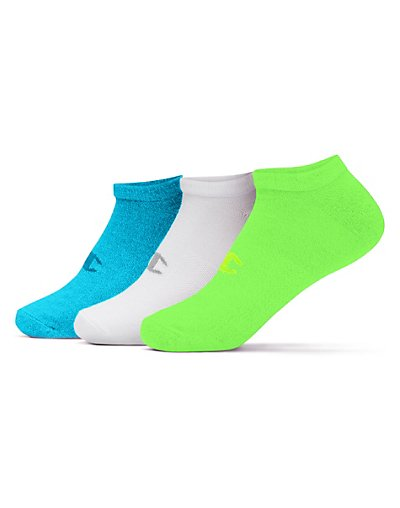 Champion CH662  Women No Show Socks 3 Pack