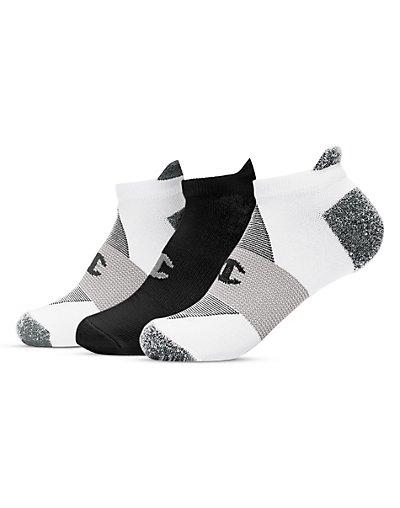 Champion CH664  Women's Heel Shield Socks 3-Pack
