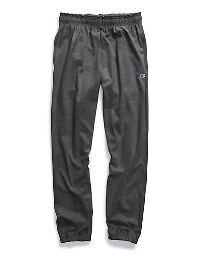 Champion CH306  Big Tall Men Jersey Pants With Elastic Bottom