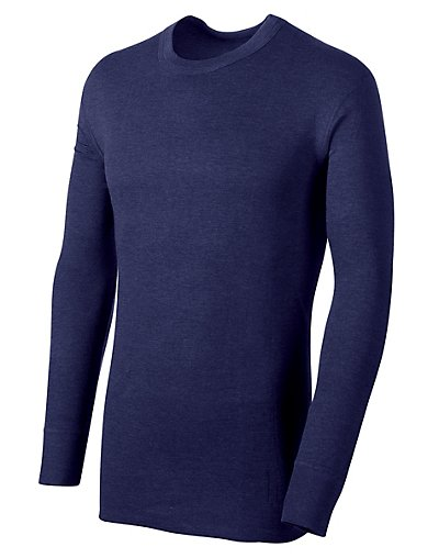Duofold By Champion KMW1  Thermals Men Long Sleeve Base Layer Shirt