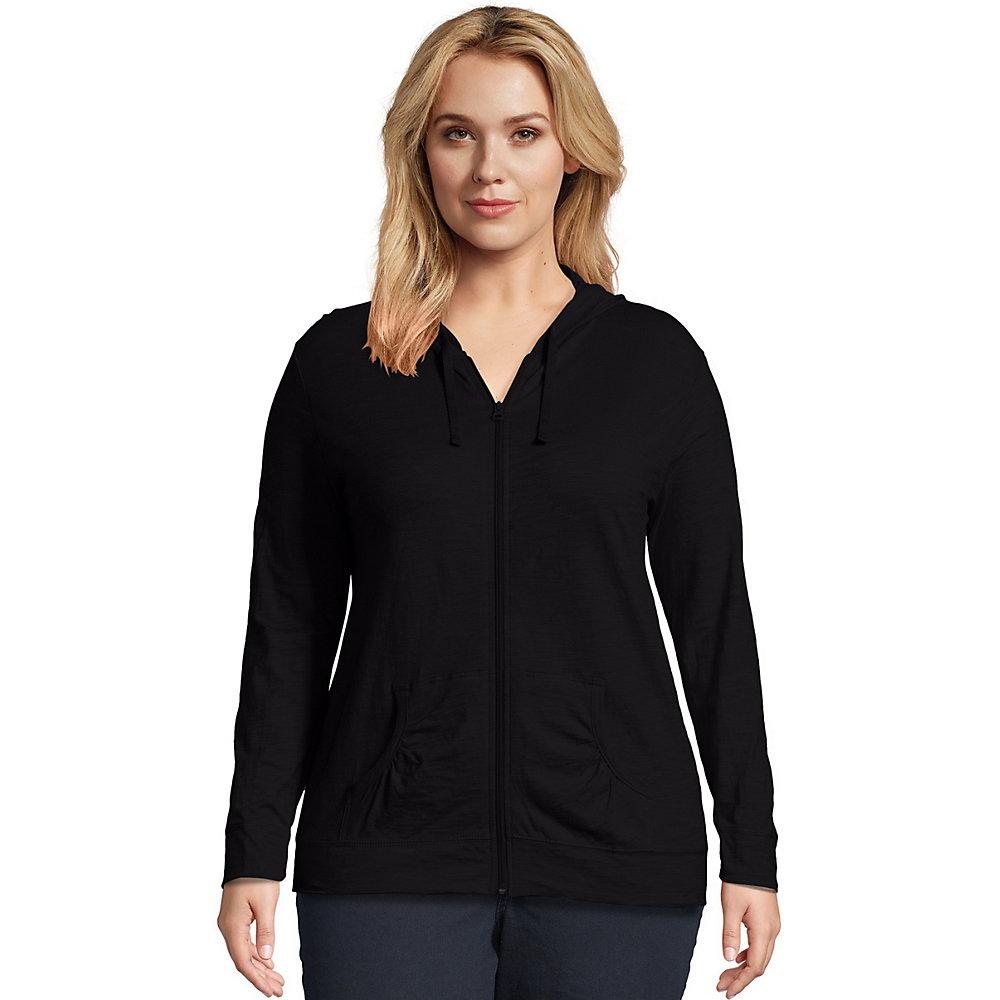 bf81d5a4d29 Buy J M S OJ168 Just My Size Slub Cotton Full Zip Women Hoodie in ...
