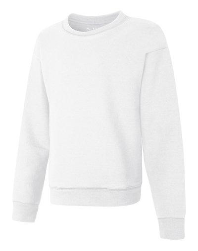 Hanes OK268  Comfortsoft Ecosmart Girls Crewneck Sweatshirt