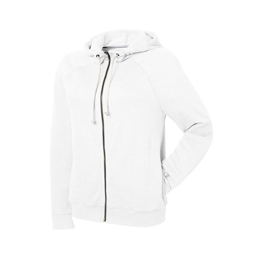 85dfe5fcaf6 Champion Women s Plus-size French Terry Full Zip Jacket Black 2x XL White.  About this product. Stock photo  Picture 1 of 2  Picture 2 of 2