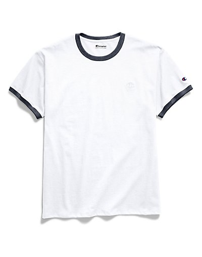 Champion T0220  Men Classic Jersey Ringer Tee