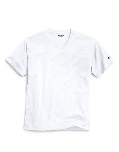 Champion T0221  Men Classic Jersey V Neck