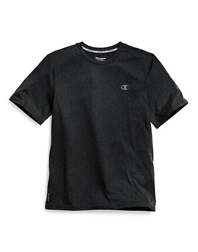 Champion T0766 407Y86  Vapor Reg Men Heather Tee
