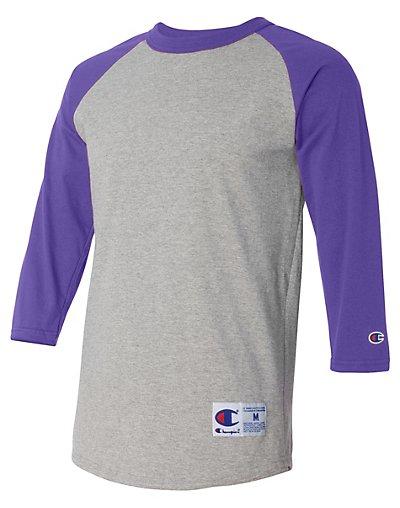 Champion T137  Raglan Baseball T Shirt