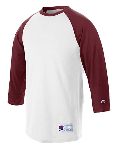 Champion T137  Raglan Baseball T-Shirt
