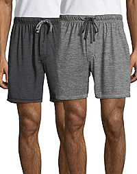 05cdce5eca6ccf image of Hanes Men s X-Temp® Brushed Performance Knit Shorts 2-Pack with