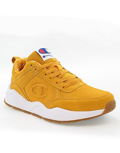 Champion Life Men's 93Eighteen Tonal C Suede Shoes Gold 11