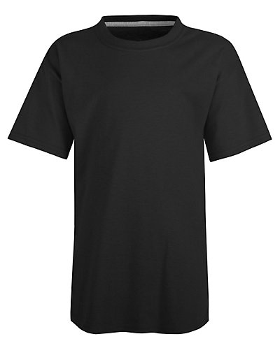 Hanes Kids' X-Temp Performance T-Shirt Black L