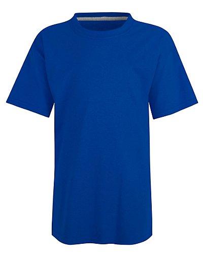Hanes Kids' X-Temp Performance T-Shirt Deep Royal XS