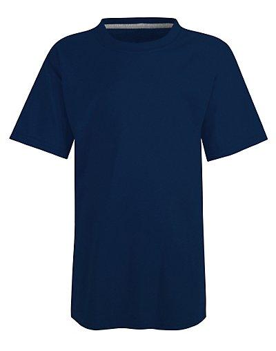 Hanes Kids' X-Temp Performance T-Shirt Navy S