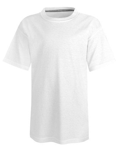 Hanes Kids' X-Temp Performance T-Shirt White M