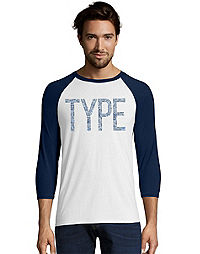 3690e7b2 image of Limited Edition 'Type' Type 1 Diabetes Awareness Baseball Tee with  sku: