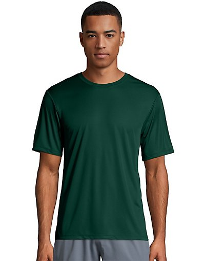 Hanes Sport Cool Dri Men's Performance Tee Deep Forest XL