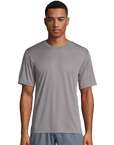 Hanes Sport Cool Dri Men's Performance Tee Graphite 2XL