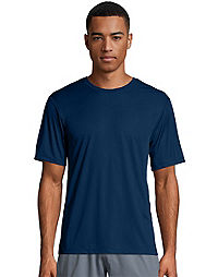 d948526099cc64 image of Hanes Sport™ Cool Dri® Men s Performance Tee with sku 348560
