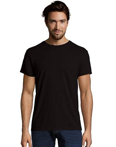 Hanes Men's Nano-T T-Shirt Black S