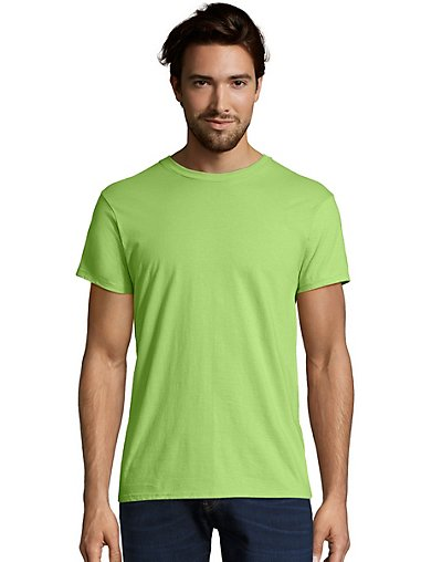 Hanes Men's Nano-T T-Shirt Lime XL