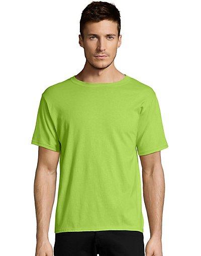 Hanes ComfortBlend EcoSmart Crewneck Men's T-Shirt Lime 2XL