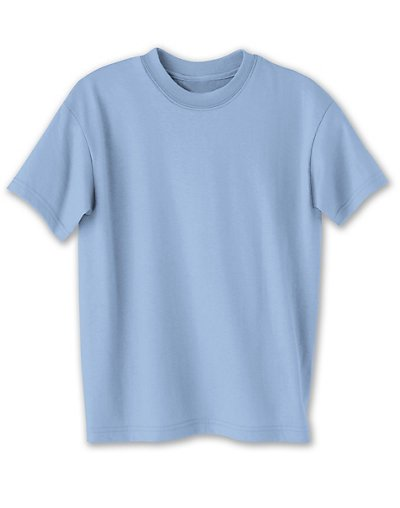 Hanes Kids' ComfortBlend EcoSmart Crewneck Light Blue S
