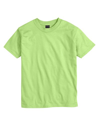 Hanes Kids' Beefy-T T-Shirt Lime XL