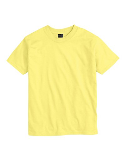 Hanes Kids' Beefy-T T-Shirt Yellow XL