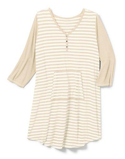 Hanes Women's Plus Striped...