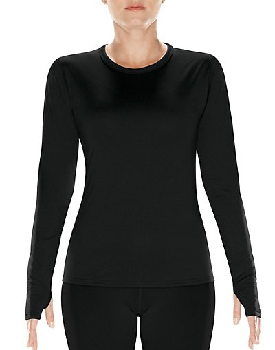 Image of C9 by Champion Women's Performance Stretch Baselayer Crew Black L