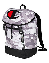 Champion Life® Prime Grey Camo Top Load Backpack d36ec1053b6e1