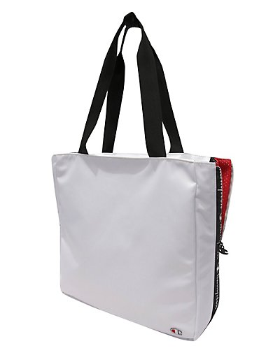 Champion Life Expander Side Zip Tote White ONE SIZE
