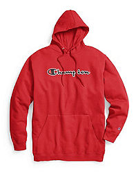 cafeb7d2 Champion Life® Men's Big & Tall Fleece Pullover Hoodie, Embroidered Logo
