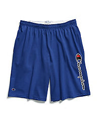 1985f599 Champion Life® Men's Big & Tall Script Logo Jersey Shorts