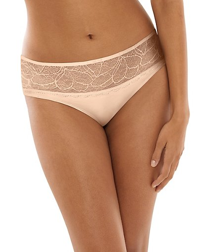Bali Lace Desire Microfiber Hipster Champagne Shimmer w/Champagne 9