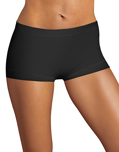Maidenform Dream Tailored Cotton Boyshort Black XL/8
