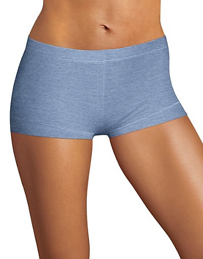 Maidenform Dream Tailored Cotton Boyshort Denim Heather M/6