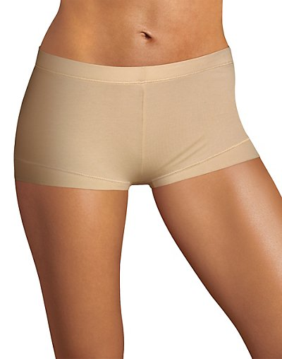 Maidenform Dream Tailored Cotton Boyshort Latte Lift S/5