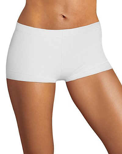 Maidenform Dream Tailored Cotton Boyshort White S/5