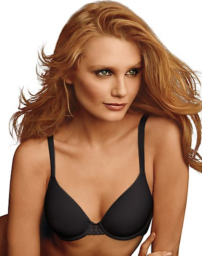 Maidenform One Fab Fit Extra Coverage Spacer Bra Black 36D