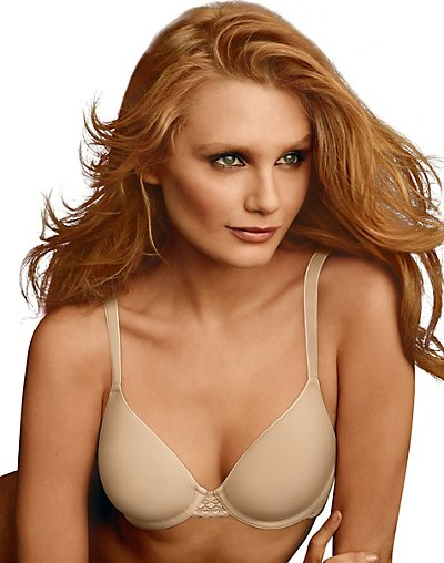 Maidenform One Fab Fit Extra Coverage Spacer Bra Latte Lift 40D