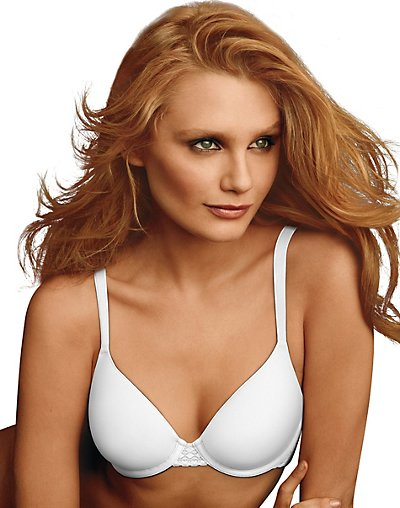 Maidenform One Fab Fit Extra Coverage Spacer Bra White 34DD