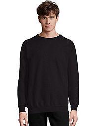 a13ba711 image of Hanes Men's Ultimate Cotton® Heavyweight Crewneck Sweatshirt with  sku:349799