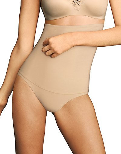 Maidenform Firm Control Hi-Waist Brief Latte Lift M