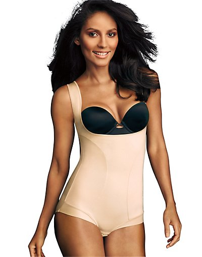 Maidenform Wear Your Own Bra Romper Body Beige L