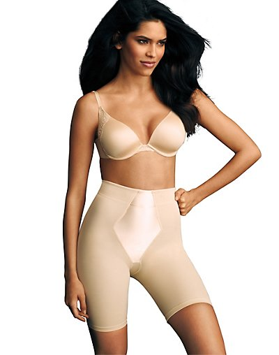 Maidenform Easy-Up Thigh Slimmer Latte Lift 2XL