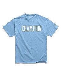 68480bcd Champion Men's Classic Jersey Tee, Block Logo